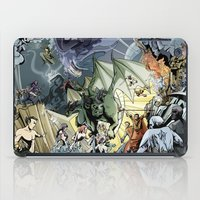 nightcrawler iPad Cases featuring Marvel Heroes Fantasy AU by TwoHorizons