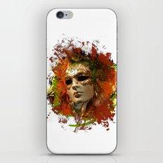 Mask 8 iPhone & iPod Skin