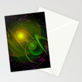 Abstract in perfection - Space Stationery Cards