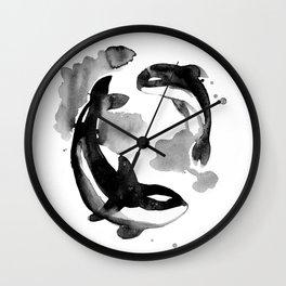 Whale002 Wall Clock