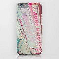 Ice Cream Shop iPhone 6s Slim Case