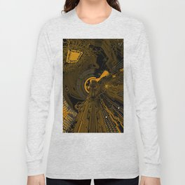 Abstraction based on the image of the motherboard Long Sleeve T-shirt