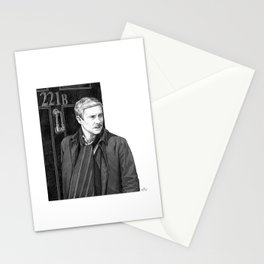 Moustache Stationery Cards