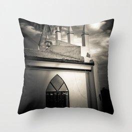 Chapel of The Holy Cross, Anjuna, Goa, India Throw Pillow