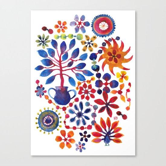 MAGIC TREE ON WHITE Canvas Print