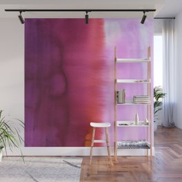 Flood Red Wall Mural