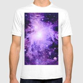 Orion nebUla. : Purple Galaxy T-shirt