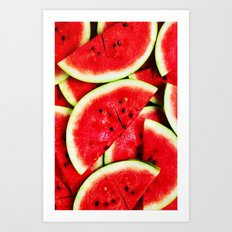 Watermelon - for iphone Art Print
