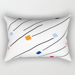 moving colors Rectangular Pillow