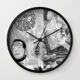 The constellation erotique 3407 Wall Clock