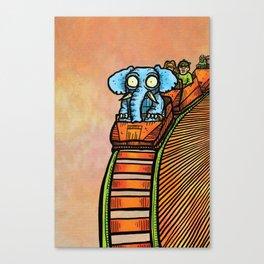 Elephart Canvas Print