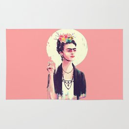 The Frida Kahlo Lollipop Rug