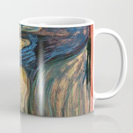 The Scream Edvard Munch Restored Coffee Mug