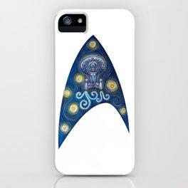 Enterprise Van Gogh iPhone Case