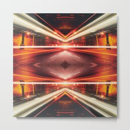 Street Night Light XTFORCE-TB Metal Print