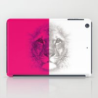 hologram iPad Cases featuring HoloLeo by PandaTrip