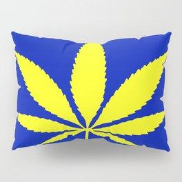Weed Hash Bash Blue Pillow Sham