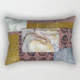 textures and doodles 1 Rectangular Pillow