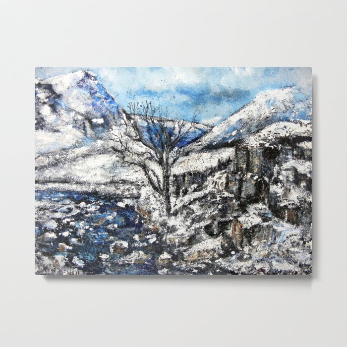 Glencoe snows Metal Print