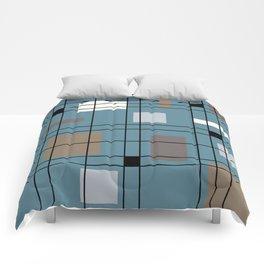 1950's Abstract Art Comforters