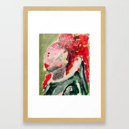 Shapely Framed Art Print