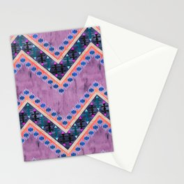Killim Kind Chevron 4C Stationery Cards