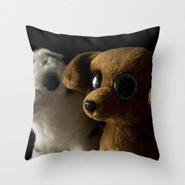 Big friends Throw Pillow