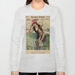 At the Seashore 1919 Long Sleeve T-shirt