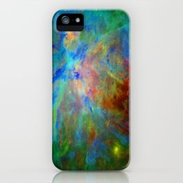 Stars Implode iPhone Case