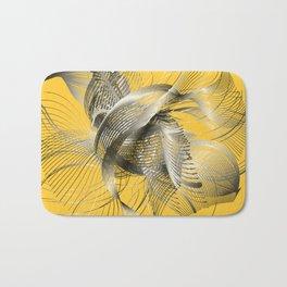 Abstract Fish Bath Mat
