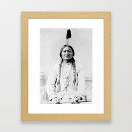 Sioux Chief Sitting Bull Framed Art Print