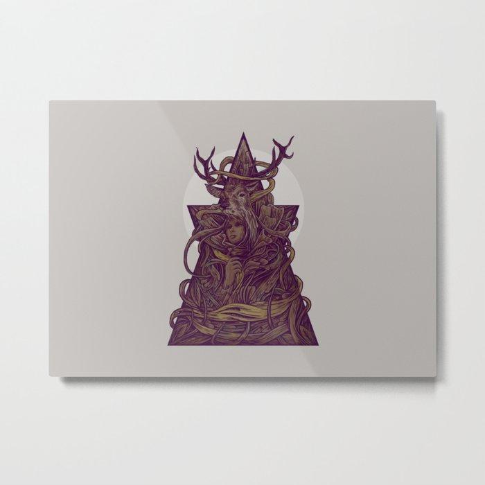 Beautiful Deer Metal Print