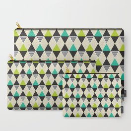Geometric Pattern 48 (Mid-century) Carry-All Pouch