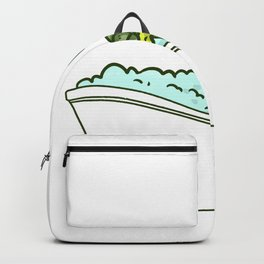 Bathtub turtle Backpack