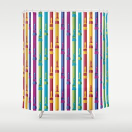 Color Your World Shower Curtain