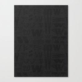 WWWs Canvas Print