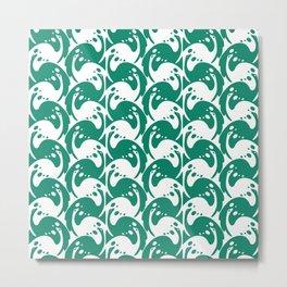 """Koloman (Kolo) Moser """"Textile pattern (Birds)"""" (1) Metal Print"""