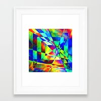 illusion Framed Art Prints featuring Illusion. by Assiyam