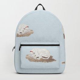 Blondie - sleeping dog Backpack