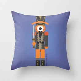 nutcracker glance Throw Pillow
