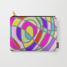 Stain Glass Abstract Meditation Tango Carry-All Pouch