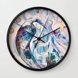 Lemurian Light of Life Wall Clock