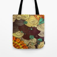 earth Tote Bags featuring Earth by DuckyB