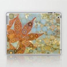 Perky Maple Leaf Abstract Laptop & iPad Skin