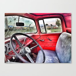 Riding Shotgun Canvas Print