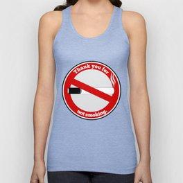 No Smoking Unisex Tank Top
