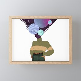 another world in my mind  Framed Mini Art Print