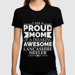 Proud mom Lancashire heeler Dog Mom Owner Mother's Day T-shirt