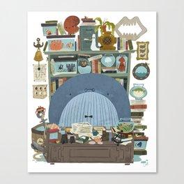 Professor Whale Canvas Print
