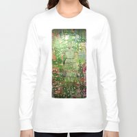 meditation Long Sleeve T-shirts featuring Meditation by Michael Hammond